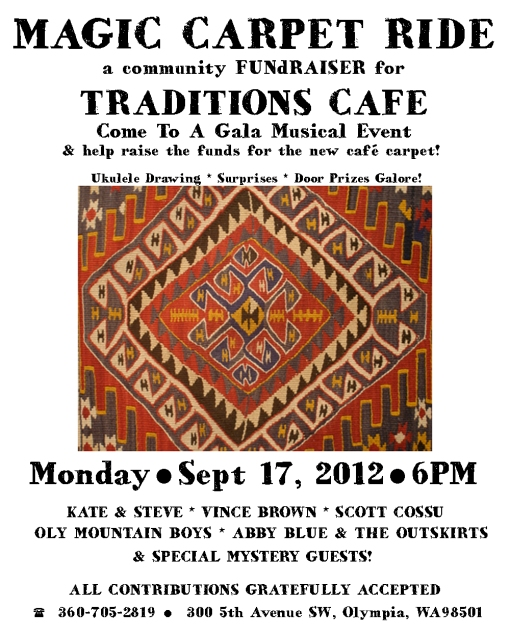 Magic Carpet Ride FUNdRAISER at Traditions