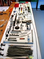 Steve Einhorn's knolling table