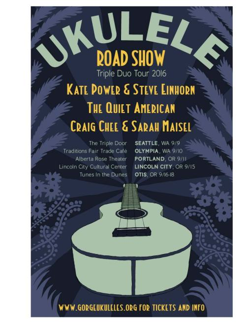 Ukulele Road Show_poster